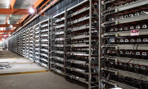 Bitcoin fell as much as 10% as central banks intervened